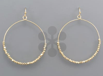 "1 3/4"" Circle Wire Earring"