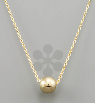 Ball Necklace 16""