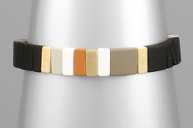 10mm Color Block Bracelet