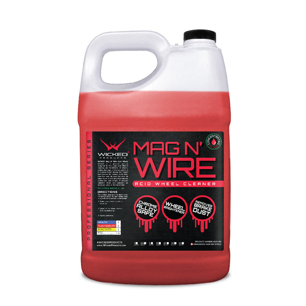 Mag N' Wire Acidic Wheel Cleaner