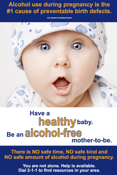 Have a Healthy Baby: Be an Alcohol Free Mother to Be