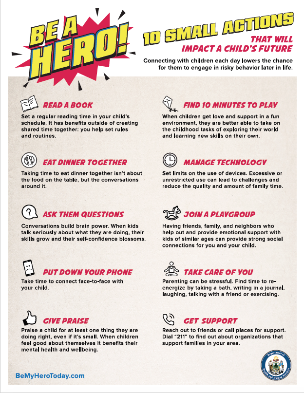 Be A Hero: 10 Small Actions