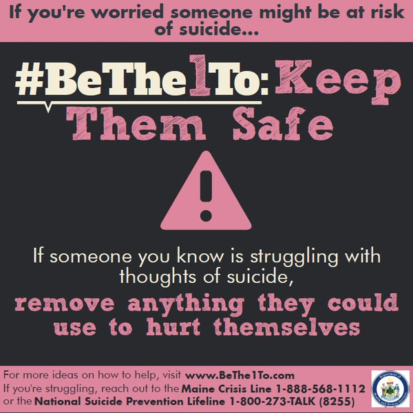 #BeThe1To Keep Them Safe