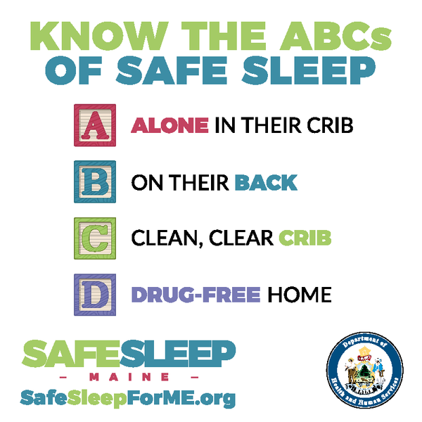 Safe Sleep Window Cling