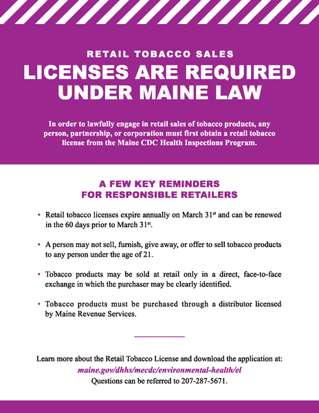 Retail License Informational Card - Digital Only