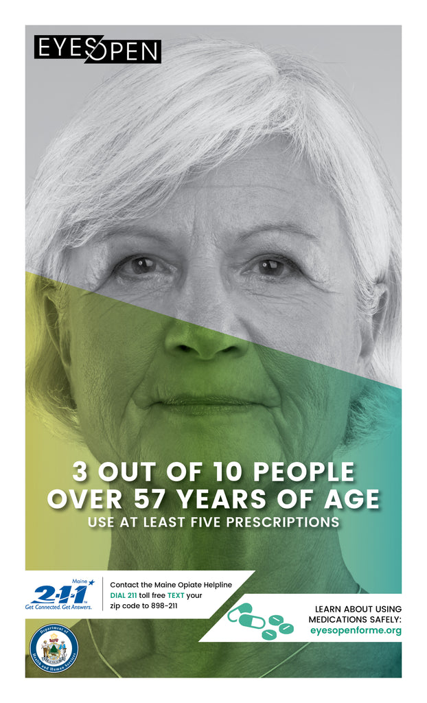 EYES OPEN Poster – Using Safely - Female