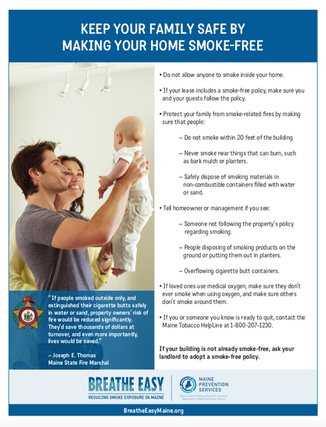 Tenant Fire Safety Fact Sheet - Digital Only