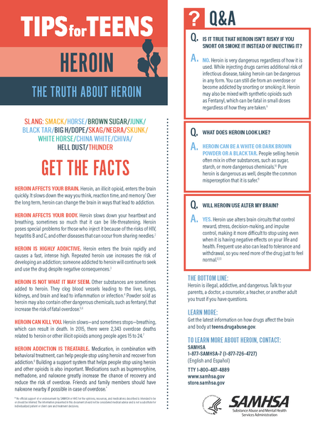 Tips for Teens: The Truth About Heroin