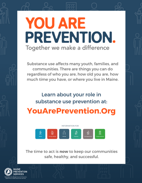 You Are Prevention - Flyer