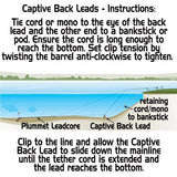 Captive Back Lead (2-Pack)