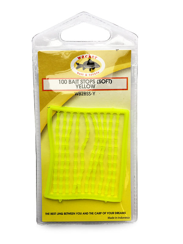 Bait Stops, Soft Fluoro Yellow