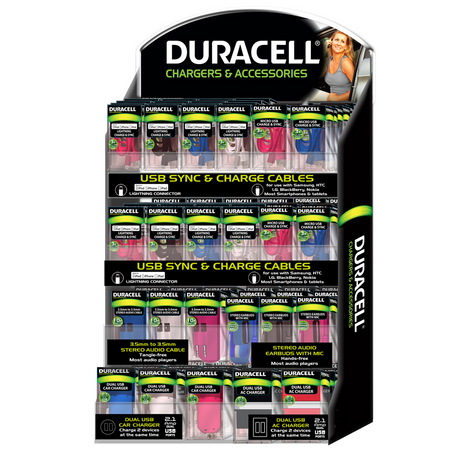 Duracell 4-Tier Counter Display (147 count)