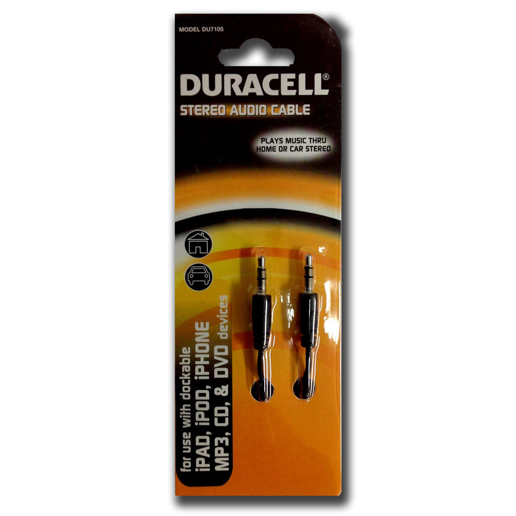 Duracell Stereo Audio Cable (DU7105)