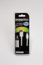 Duracell Sync & Charge MFI Certified USB to Lightning Cable (DU1339)