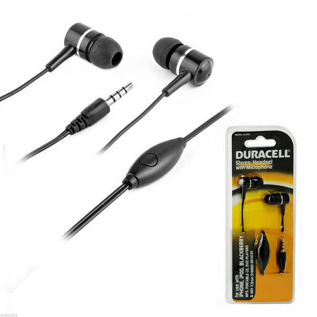Duracell Stereo Headset w/Microphone (DU3001)