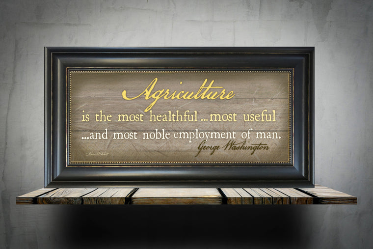 Agriculture, Most Healthful, Useful