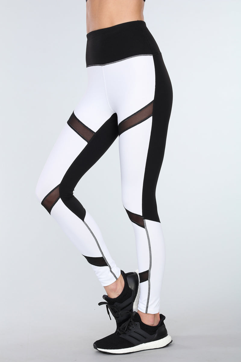 MOONLIT MESH LEGGINGS