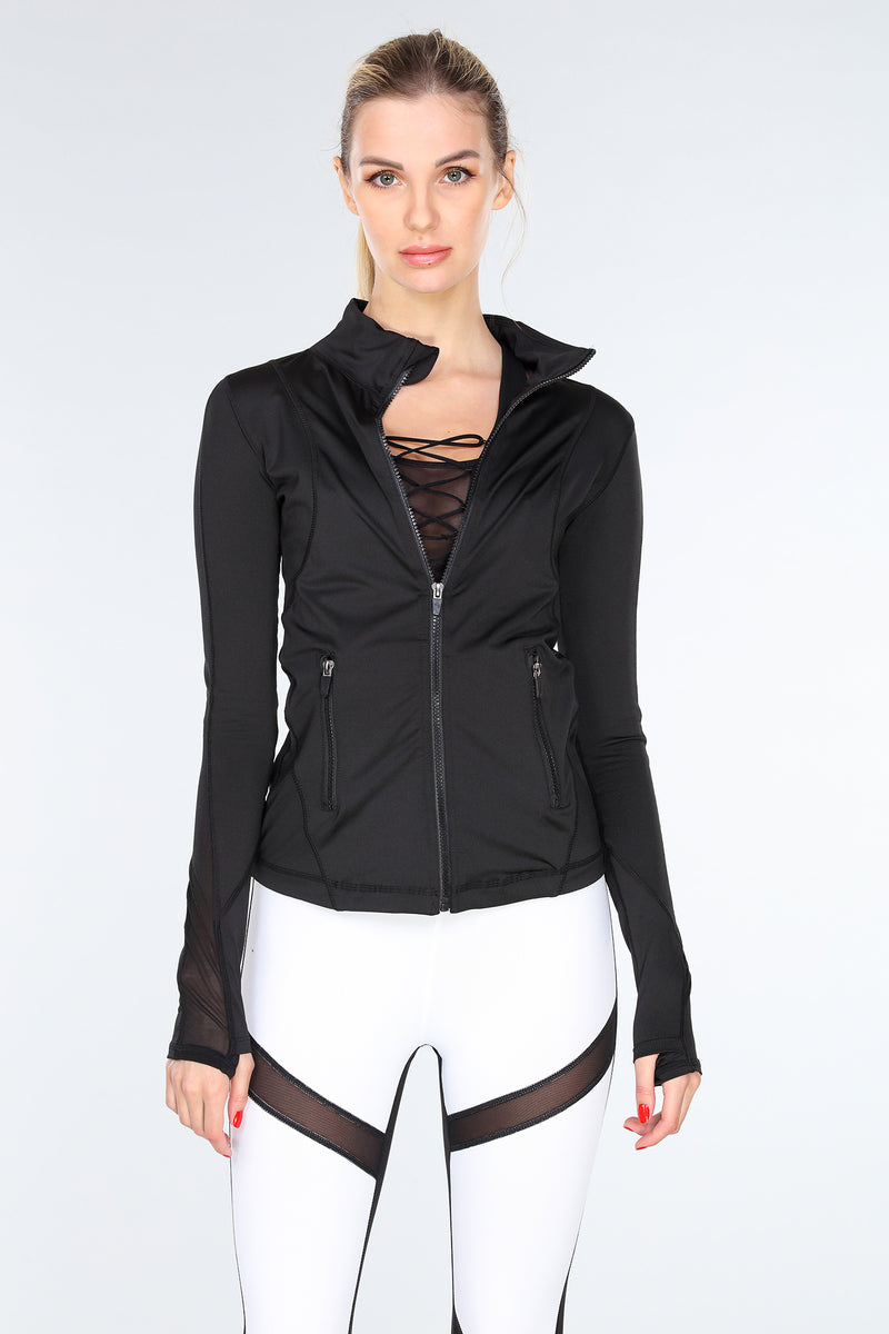 VIBRATION MESH JACKET | BLACK