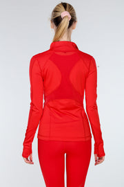 VIBRATION MESH JACKET | RED