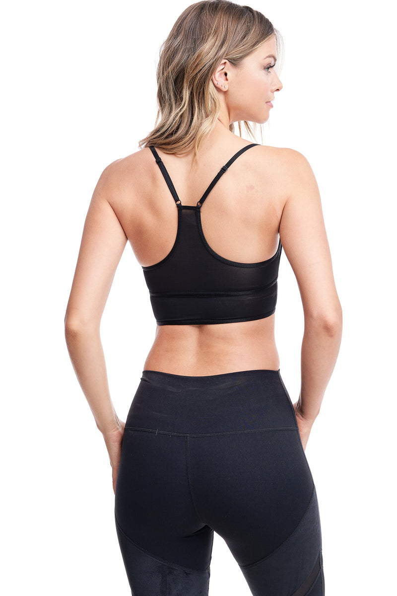 LUX VELOUR SPORTS BRA - LA Society