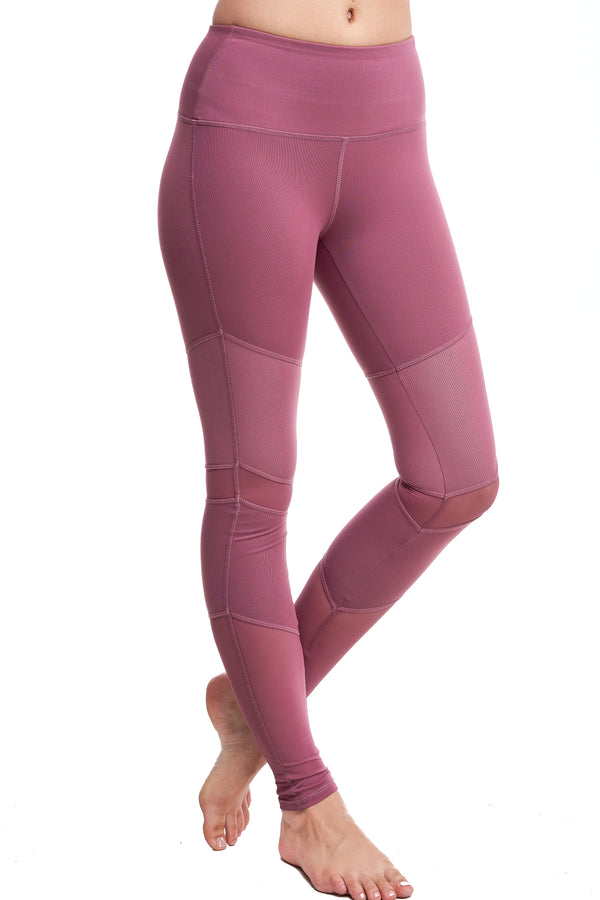 LUX LEGGINGS | MAUVE - LA Society