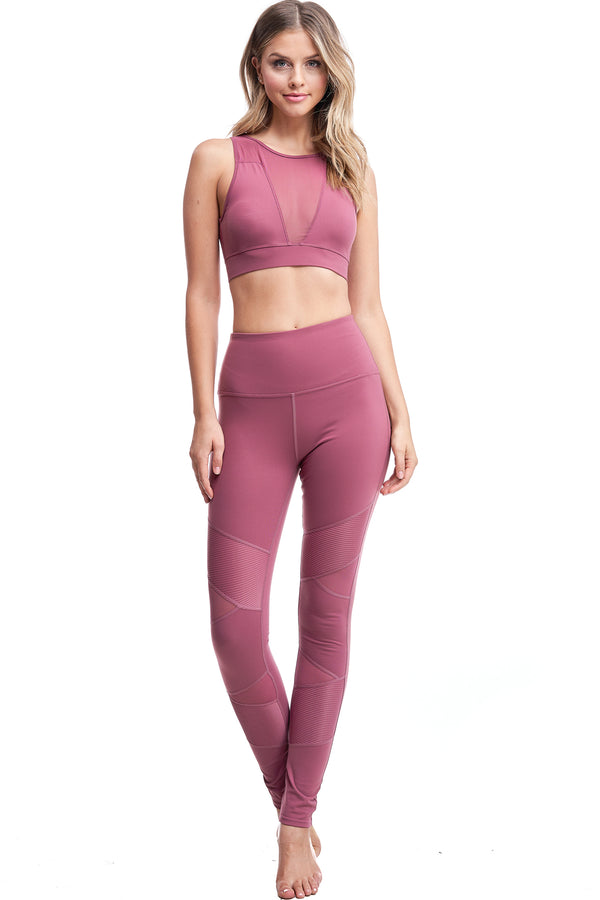 PANTHERA LEGGINGS | MAUVE - LA Society