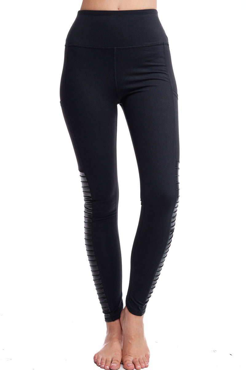 BOULEVARD LEGGINGS | BLACK