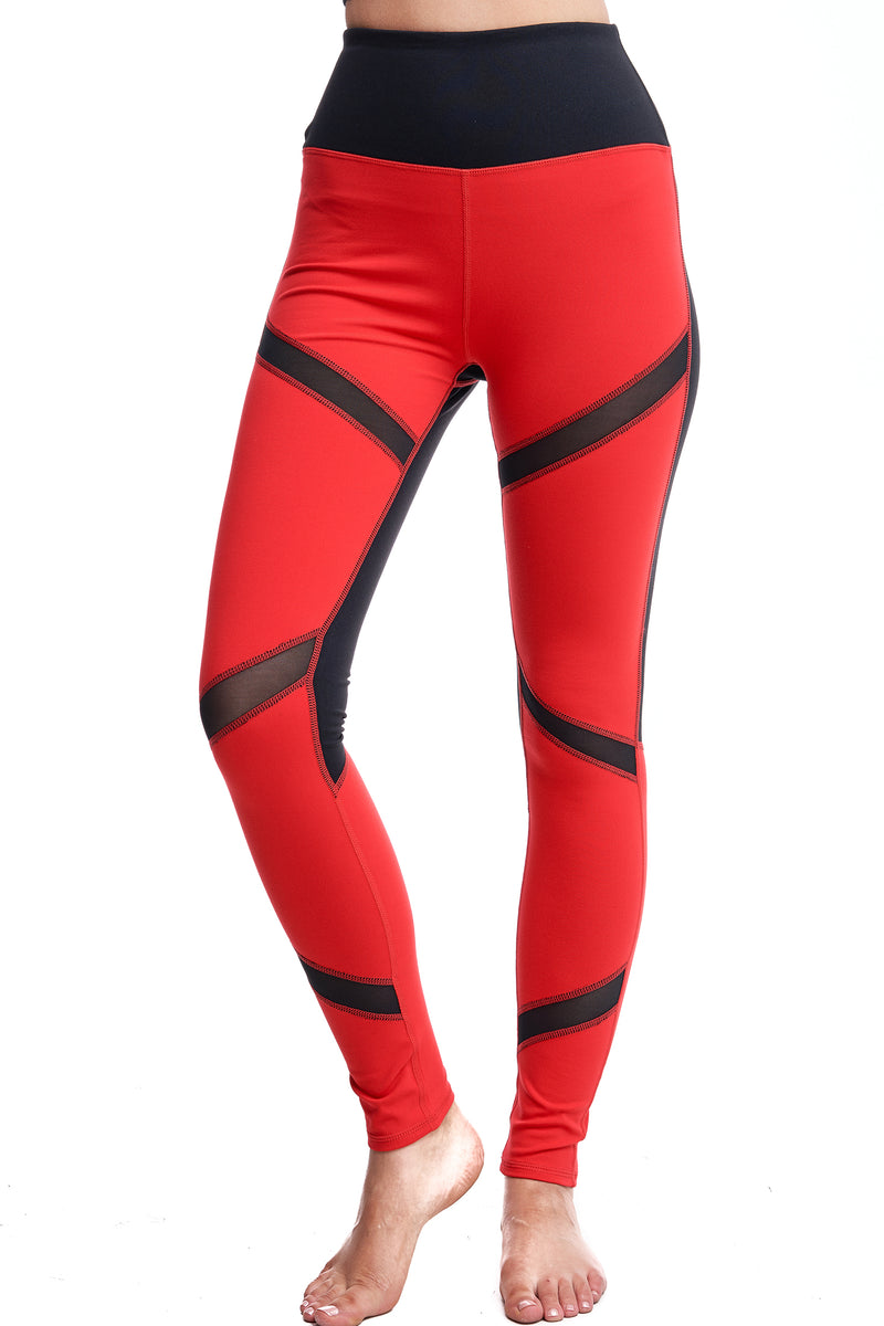 ASTRO MESH LEGGINGS - LA Society