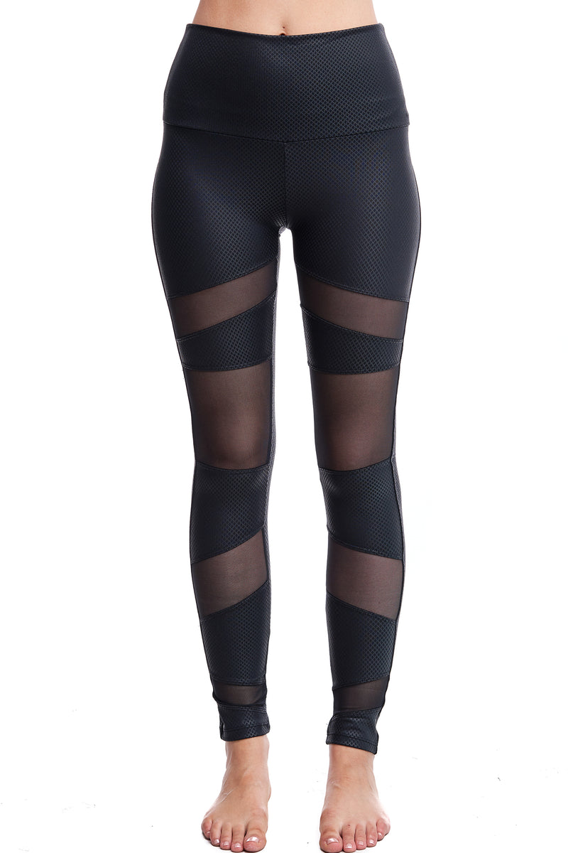 CARBON MESH LEGGINGS