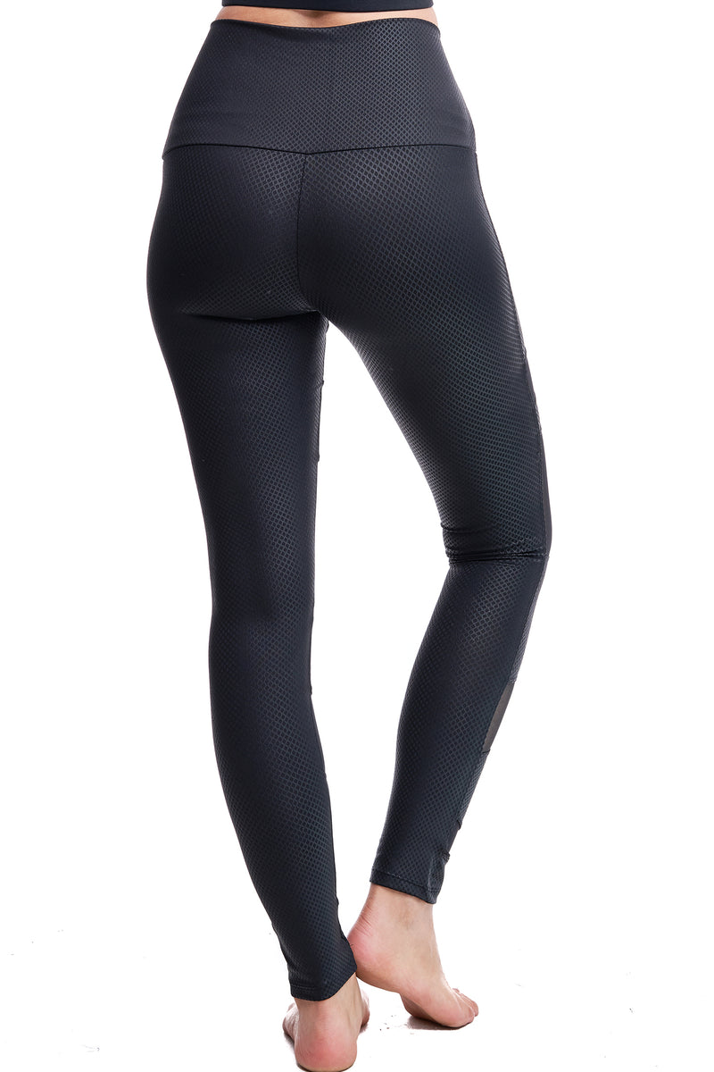 CARBON MESH LEGGINGS - LA Society