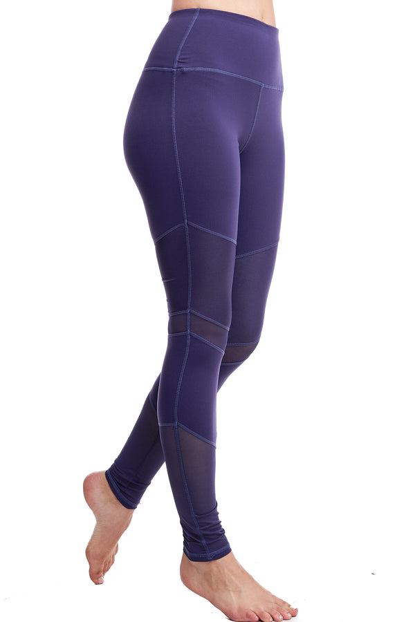 LUX LEGGINGS | PURPLE - LA Society