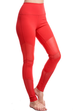 LUX LEGGINGS | RED - LA Society