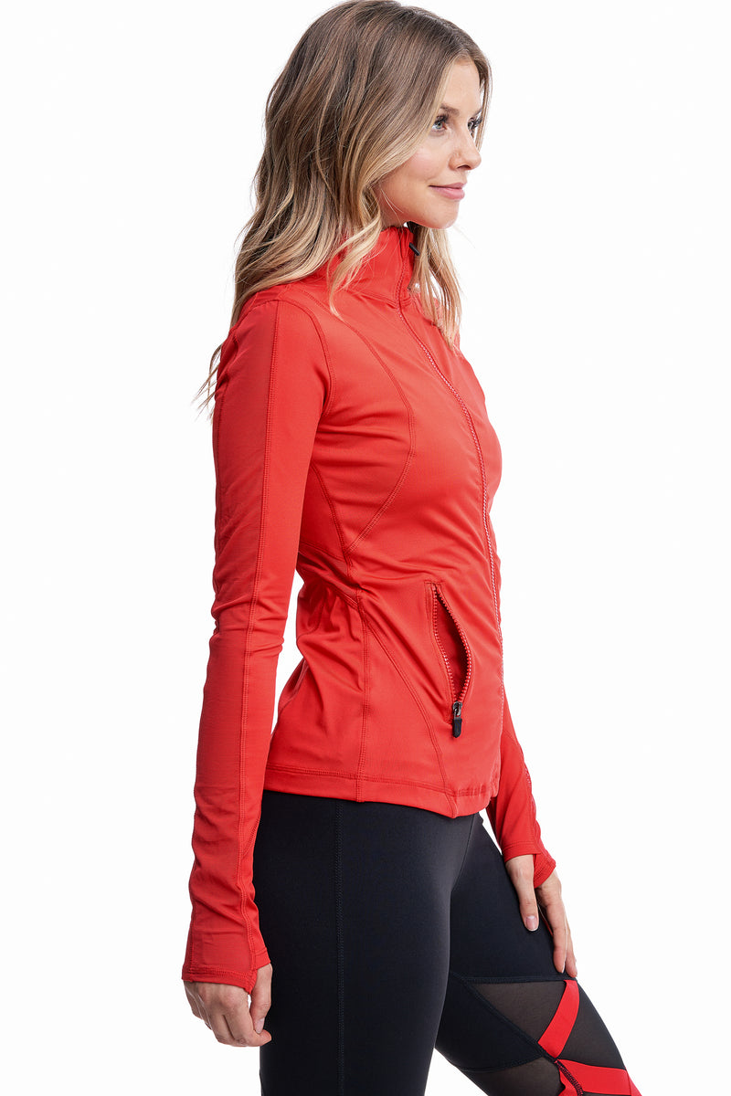 VIBRATION MESH JACKET | RED - LA Society