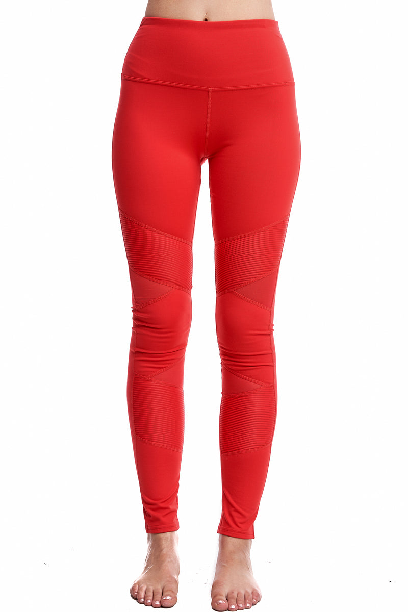 PANTHERA LEGGINGS | RED - LA Society