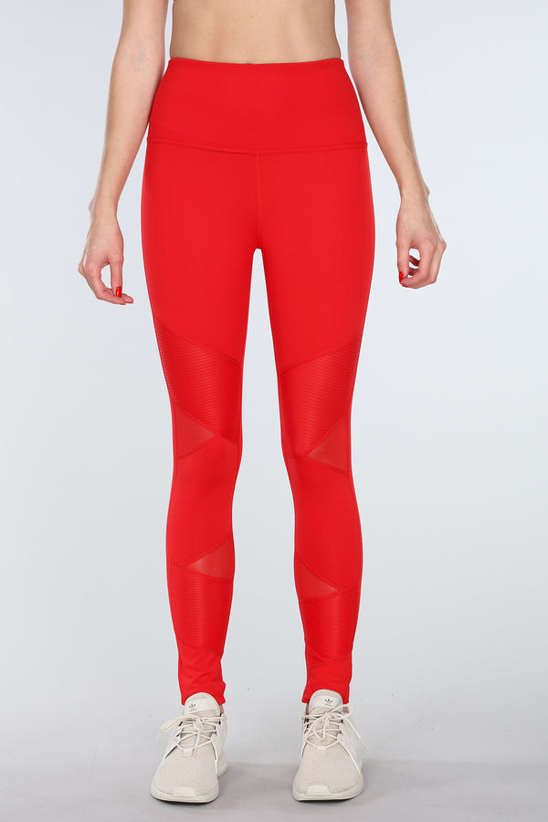 PANTHERA LEGGINGS | RED