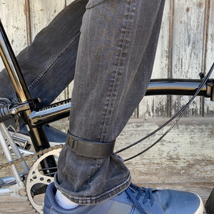 Brompton leather wheel frame strap and trousers strap 2in1