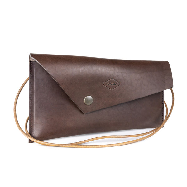 Women's leather clutch - Marc