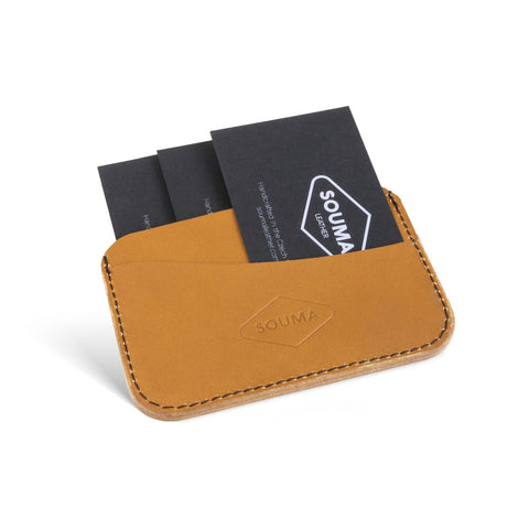 Minimalistic Leather Card Wallet