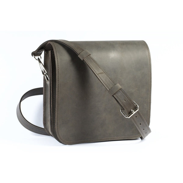 Classic design and simple design - Small Messenger Bag by Souma Leather