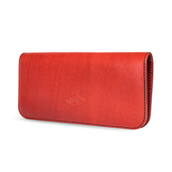 Women's Leather Wallet - Fold