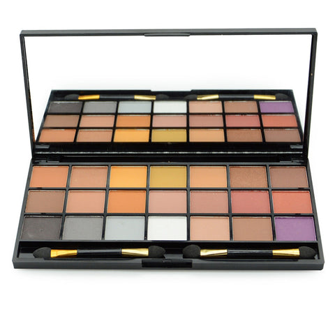 24 Colors UNZIPPED Palette 21 Colors Matte Pigment Eyeshadow