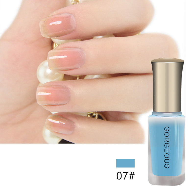 Nude Series Translucent Nail Polish Like Jelly Lacquer Professional ...