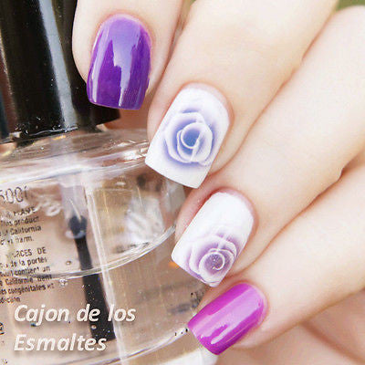 1sheet Nail Art Water Decals Nail Stickers Water Transfer Sticker Charming