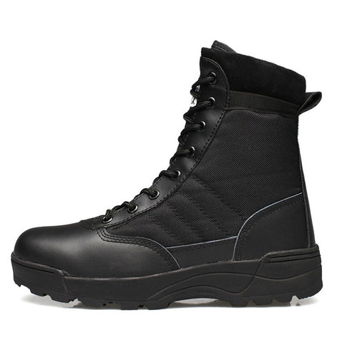 Military Desert Tactical Boot Shoes Autumn Breathable Combat Ankle Boots