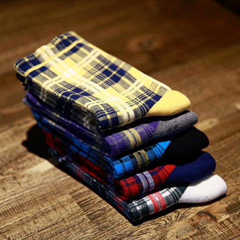 Colorful Color Cotton Men Baseball Breathable Absorbent Socks