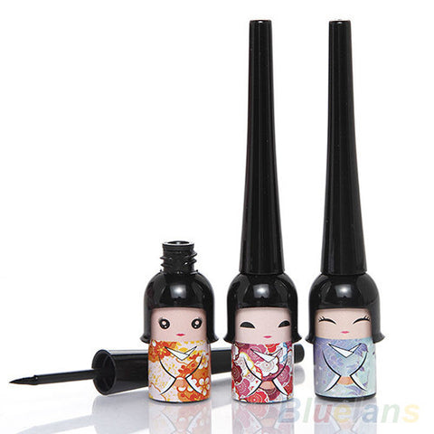 Cute Doll Eyeliner Liquid Pen Makeup Cosmetic Eye Liner  4DYV