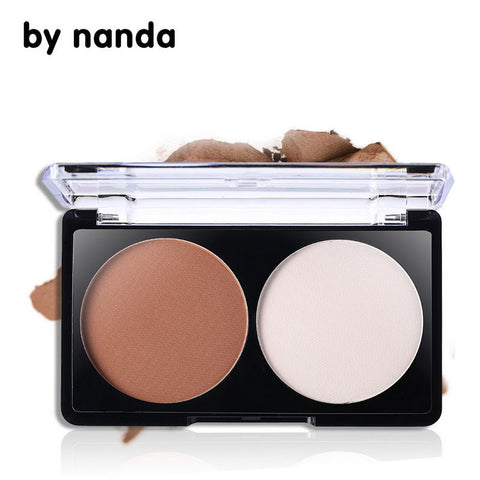 Bronzer Highlighter Powder Palette Trimming Powder Make Up Face