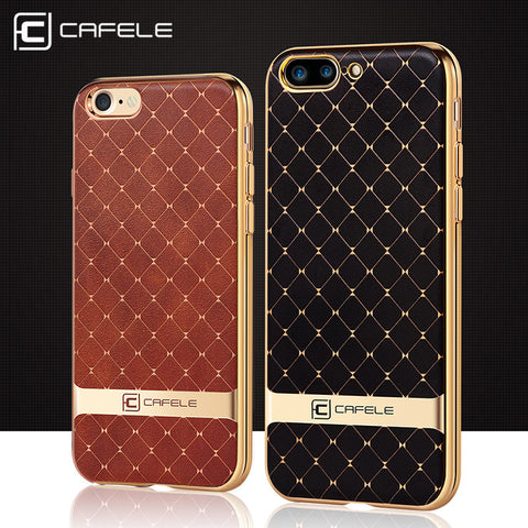 7 cases Luxury Plating TPU silicone phone cover For iphone 7 plus