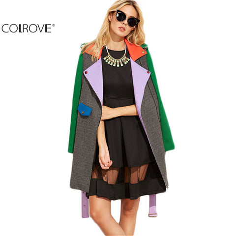 Asymmetric Zip Coat Women Basic Coat Winter Coat Women's Long Sleeve