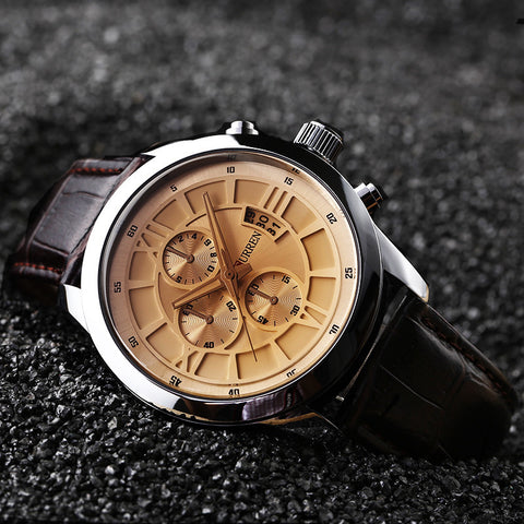Fashion Men Sports Watches Men's Quartz Hour Date Clock